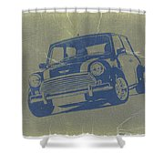 Mini Cooper Shower Curtain