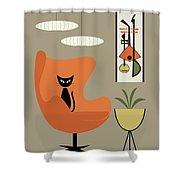 Mini Gravel Art 2 Shower Curtain
