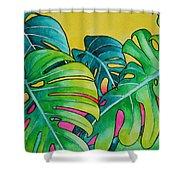 Mini Tropicals 3 Shower Curtain