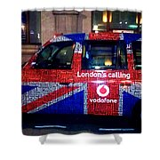 Minicab Shower Curtain