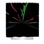 Minimal Colours 2 Shower Curtain