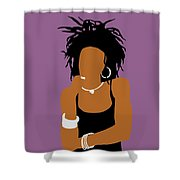 Minimalist Lauryn Hill Shower Curtain