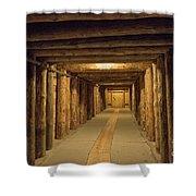 Mining Tunnel Shower Curtain