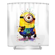 Minion 4 Shower Curtain