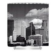 Minneapolis Skyline Shower Curtain