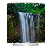 Minneopa Falls Shower Curtain