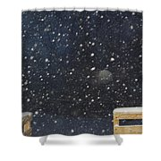 Minnesota Snow Shower Curtain