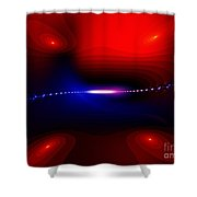 Minus 3 Degrees Shower Curtain by Peter R Nicholls