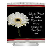 Miracle Of Christmas Shower Curtain