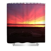 Miracle Sunset Shower Curtain