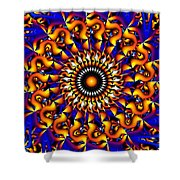 Miracles In Motion Shower Curtain