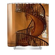 Miraculous Staircase Shower Curtain