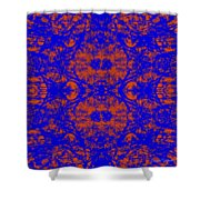 Mirage In Blue - Abstract Shower Curtain