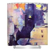 Mirage In The Concrete City Shower Curtain