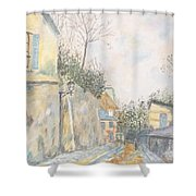 Mirage Of Utrillo Shower Curtain