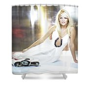 Mirjam Weichselbraun Shower Curtain