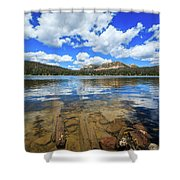 Mirror Lake Moments Shower Curtain