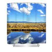 Mirror Moment Shower Curtain