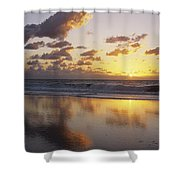 Mirrored Mexico Sunset Shower Curtain