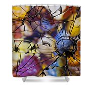 Mirrored Pebbles Shower Curtain