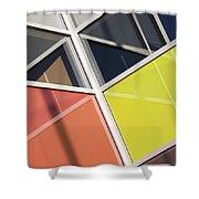 Mirrors II Shower Curtain