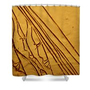 Mirrors Of Life - Tile Shower Curtain