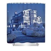 Misquamticut Mansion Shower Curtain
