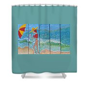 Miss Boobiair Shower Curtain