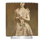 Miss Grace Woodhouse Shower Curtain