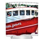 Miss Janice Shower Curtain