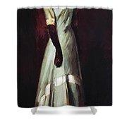 Miss Kaji Waki 1909 Shower Curtain