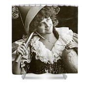 Miss Marie Studholme As Lady Madcap 1905 Shower Curtain
