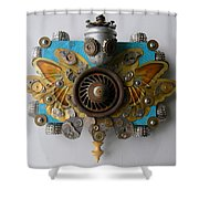Miss Mariposa Shower Curtain
