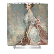 Miss Mathilde Townsend Shower Curtain