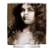 Miss Maude Fealy Shower Curtain