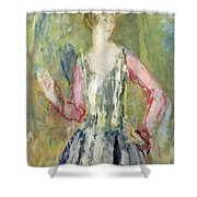Miss Nancy Cunard Shower Curtain