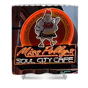 Miss Polly's Soul City Cafe Shower Curtain