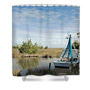 Miss Sue Two Shower Curtain