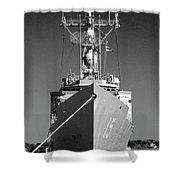 Missile Destroyer Shower Curtain