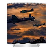 Mission Accomplished Homeward Bound Shower Curtain