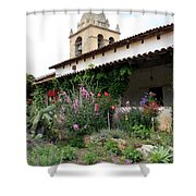 Mission Bells And Garden Shower Curtain