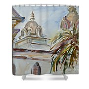 Mission Breath Shower Curtain