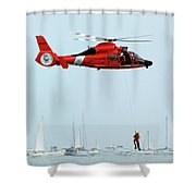 Mission Complete Shower Curtain