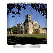 Mission San Jose Y San Miguel De Aguayo. Church. Shower Curtain