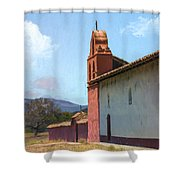 Mission End Wall Shower Curtain