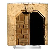 Mission Entry Shower Curtain