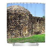 Mission Fort Shower Curtain