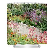 Mission Garden Shower Curtain