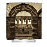 Mission Gate And Bells #2 Shower Curtain
