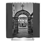 Mission Gate And Bells #3 Shower Curtain